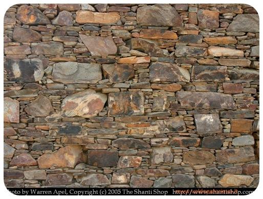 senovinė akmeninė siena